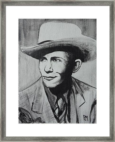 Hank Framed Print by Pete Maier