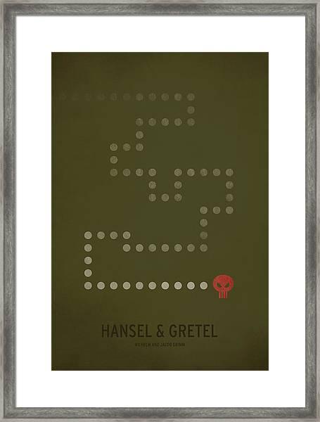 Hansel And Gretel Framed Print