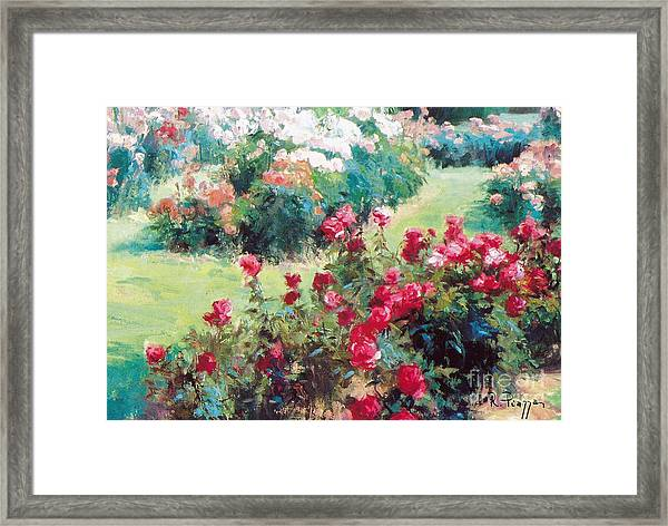 Framed Print featuring the painting Happiness by Rosario Piazza