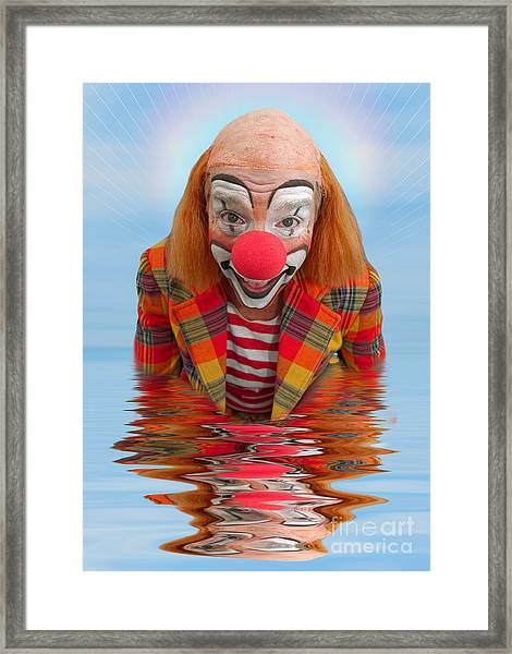 Happy Clown A173323 5x7 Framed Print