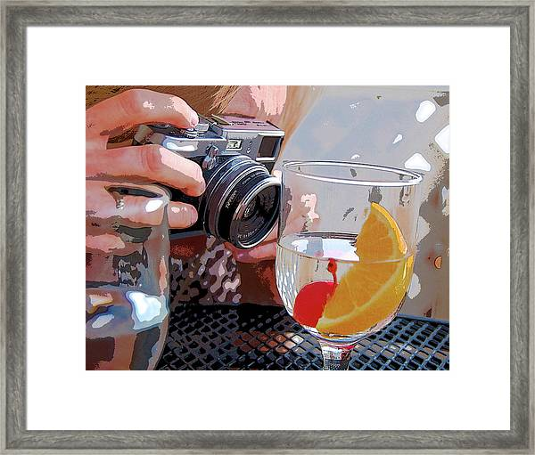 Happy Hour @ Mpbts Framed Print
