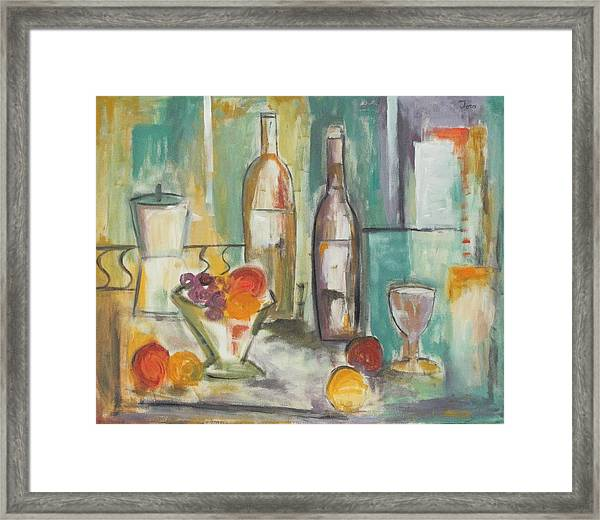 Happy Hour I Framed Print
