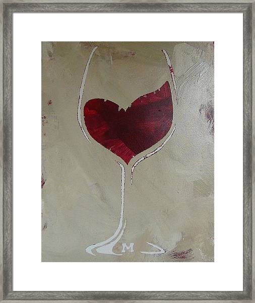 Framed Print featuring the painting Happy Hour by Candace Shrope