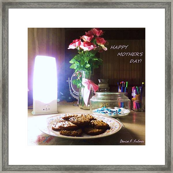 Happy Mothers Day Framed Print