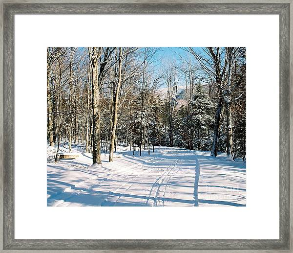 Happy Trails Framed Print