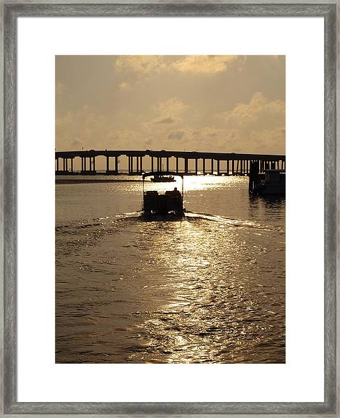 Harbor Departure Framed Print by James Granberry