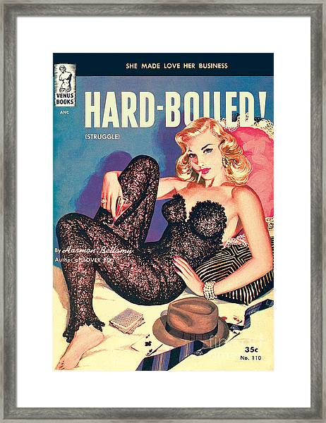 Hard-boiled Framed Print
