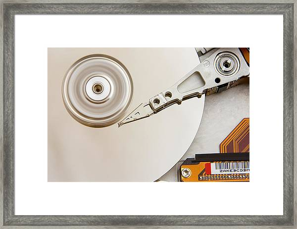Hard Drive Framed Print