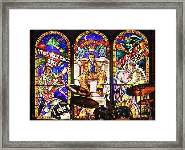 Hard Rock Cafe Framed Print