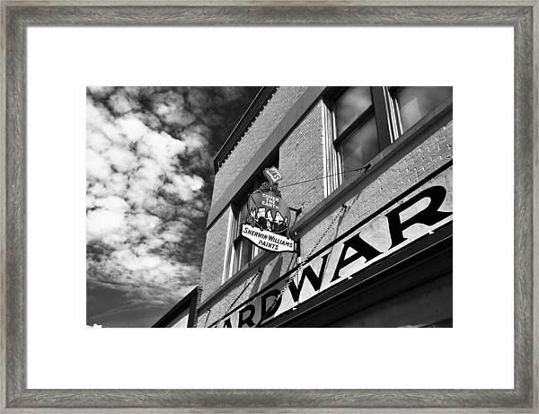 Hardware Framed Print