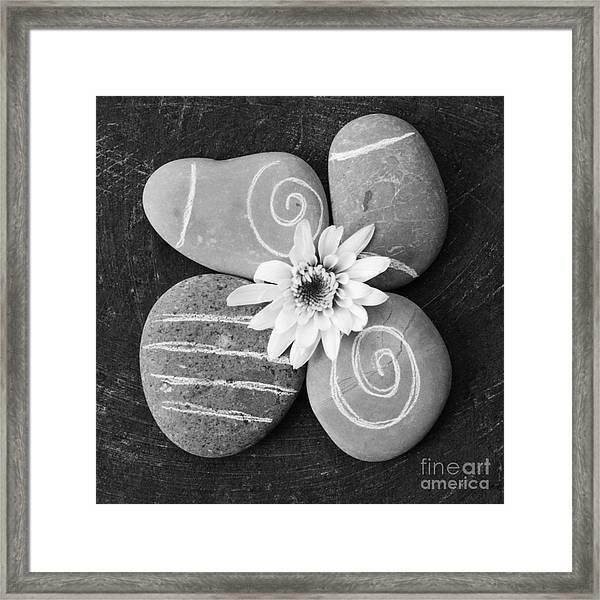 Harmony And Peace Framed Print