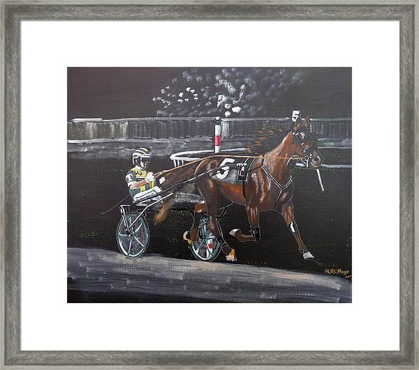 Harness Racing Framed Print