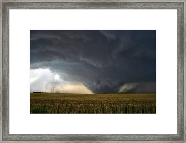 Harper Kansas Tornado 2  Framed Print