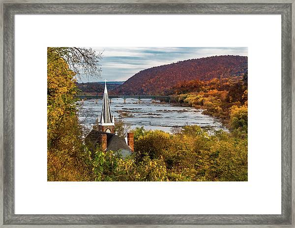 Harpers Ferry, West Virginia Framed Print