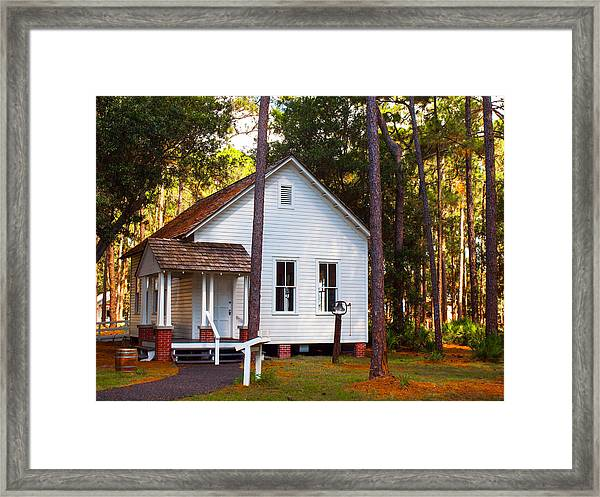 Harris School Framed Print