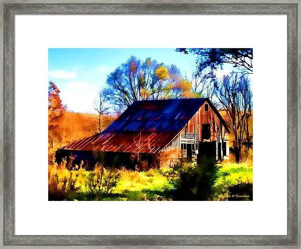 Harrison Barn Framed Print