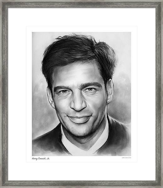 Harry Connick, Jr. Framed Print