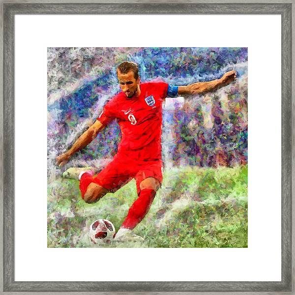 Harry Kane Framed Print