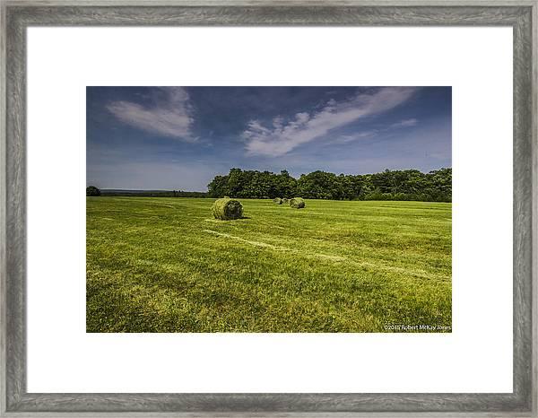 Harvested Framed Print