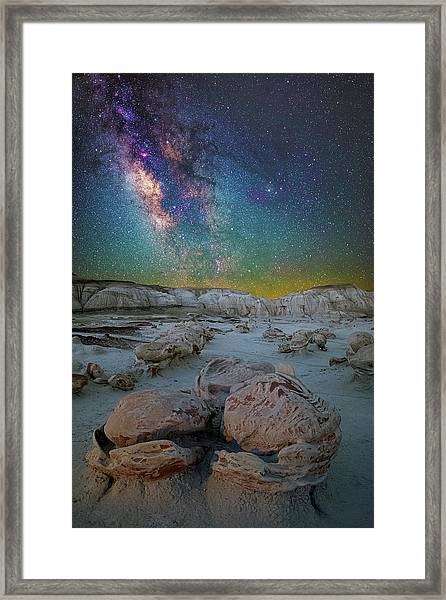 Hatched By The Stars Framed Print