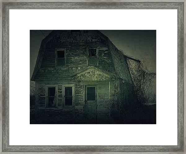 Haunting Framed Print