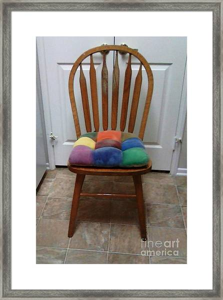 Have A Seat Framed Print by Jamey Balester