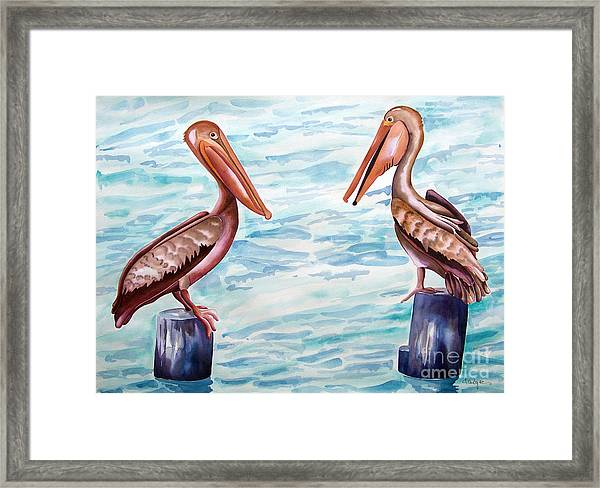 Have You Been To The Gulf  Framed Print