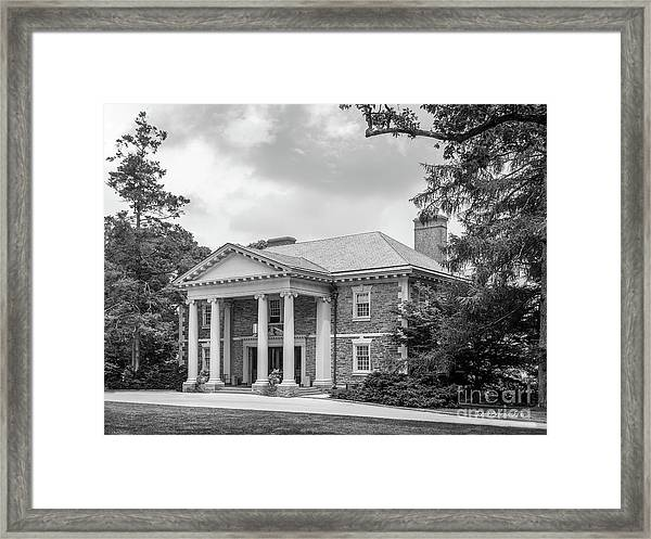 Haverford College Roberts Hall Framed Print
