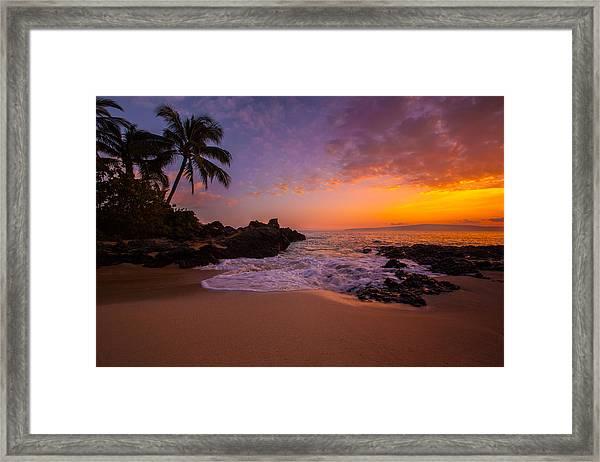 Hawaian Paradise Framed Print