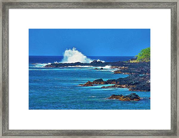 Hawaiian Seascape Framed Print