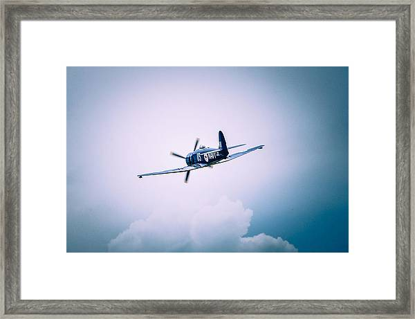 Hawker Sea Fury Fb11 Framed Print
