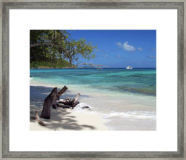 Hawksnest Bay 1 Framed Print