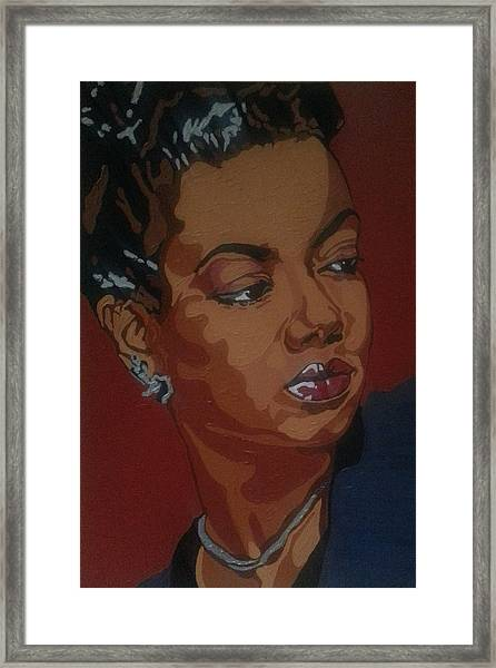 Hazel Scott Framed Print