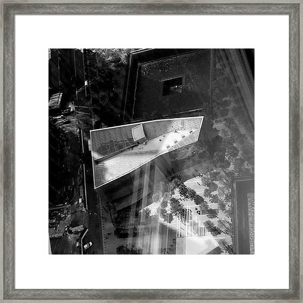 Hazy Day; Hazy Friday Brain. #1wtc Framed Print by Gina Callaghan