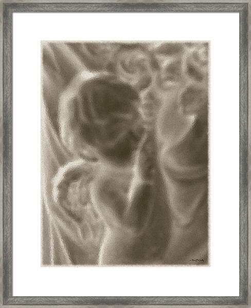 He Shall Give His Angels  Framed Print