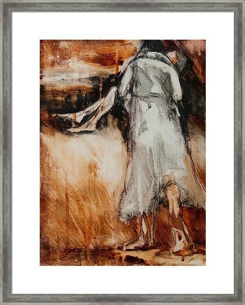 He Walks With Me Framed Print