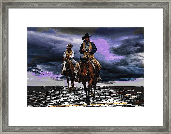 Headed Home Framed Print