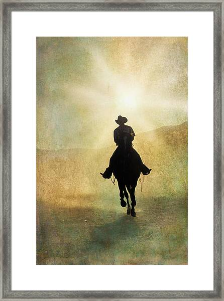 Headed Home L Framed Print