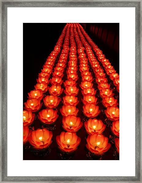 Healing Lights 1 Framed Print