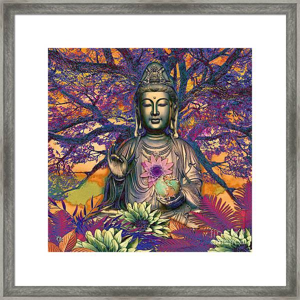 Healing Nature Framed Print