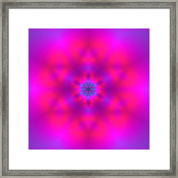 Framed Print featuring the digital art Healing Number Xxx by Robert Thalmeier