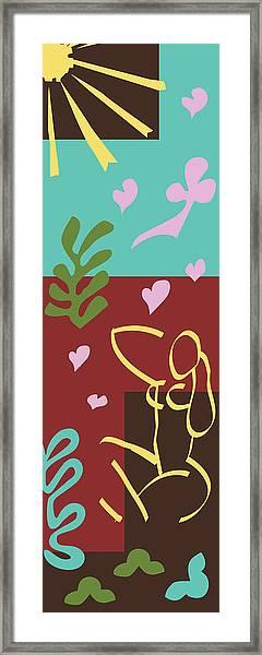 Health - Celebrate Life 3 Framed Print
