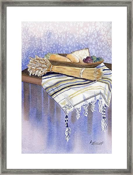 Hear O Israel Framed Print