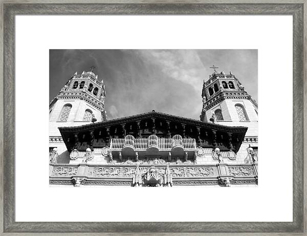 Hearst Castle Towers Framed Print