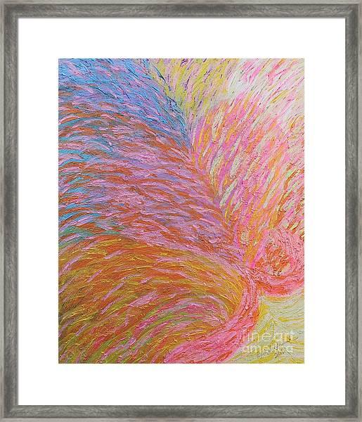 Heart Burst Framed Print