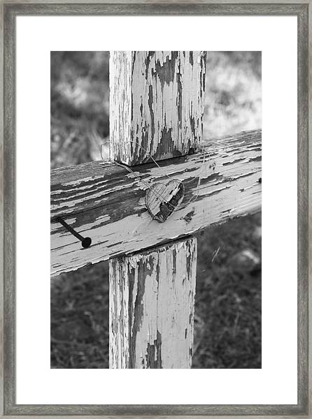 Heart Framed Print by PhotoPhotopia Melody Fulton