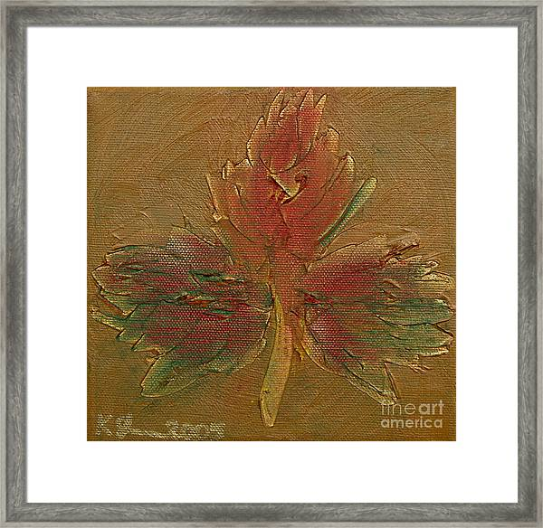 Heart Of Canada Framed Print