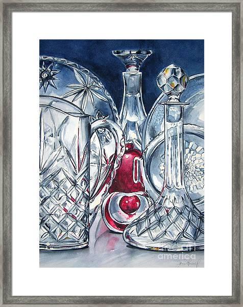 Heart Of Glass Framed Print