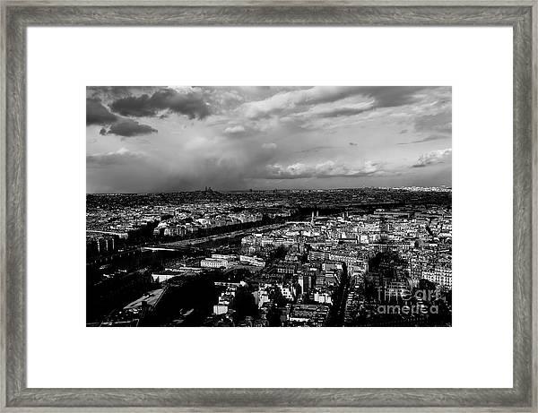 Paris 3 Framed Print