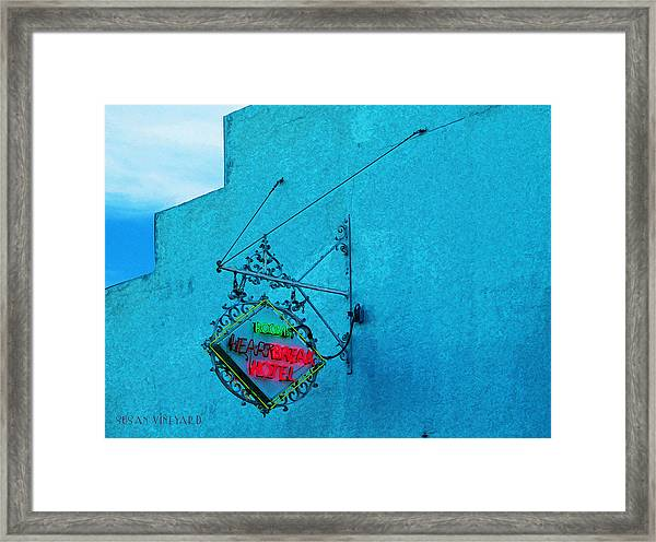 Heartbreak Hotel Framed Print